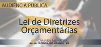 Audiência Pública - Lei de Diretrizes Orçamentárias