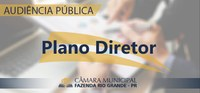 Audiência Pública - Plano Diretor