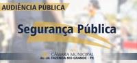 Audiência Pública - Segurança Pública