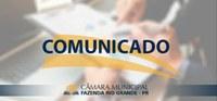 Comunicado Processo Integral da Comissão Parlamentar de Inquérito n. 01/2021