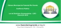 Convocação Audiência Pública - Lei de Diretrizes Orçamentárias