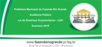 Audiência Pública LDO - Lei de Diretrizes Orçamentárias 2018