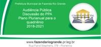 Audiência Pública PPA-Plano Plurianual 20/06/2017