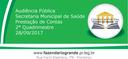 Audiência Pública SMS 28/09/2017