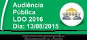 Audiência Pública - LDO 2016 - 13/08/2015