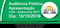 Audiência Pública - LOA 2017