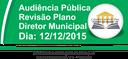 Audiência Pública - Revisão Plano Diretor Municipal
