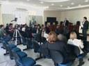 Reunião da CCJ para discutir o Projeto nº05/2015