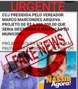 NOTA DE ESCLARECIMENTO - FAKE NEWS